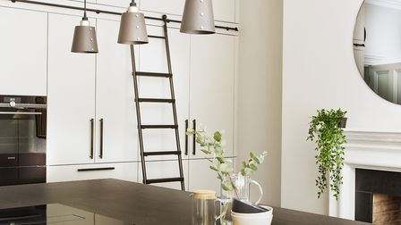 Painting a room with shades of paint in the same colour family helps to create a subtle, immersive l