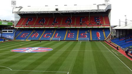 Selhurst Park, the home ground of Crystal Palace FC, which is said to be both haunted and cursed. Im