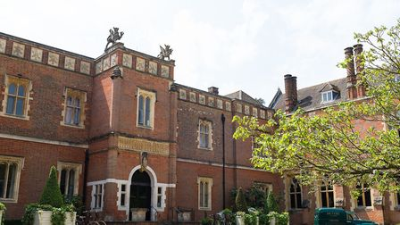 Grade II* Listed Wotton House with that front door that seems to have a mind of its own. Image: Supp