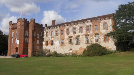 Farnham Castle where a mysterious bell tolls. There's also a ghostly monk, phantom voices, mysteriou