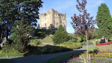 Guildford Castle, where both the keep and the grounds are said to be haunted Image: Stephen Roberts