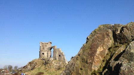 Mow Cop Folly by Oliver Blease