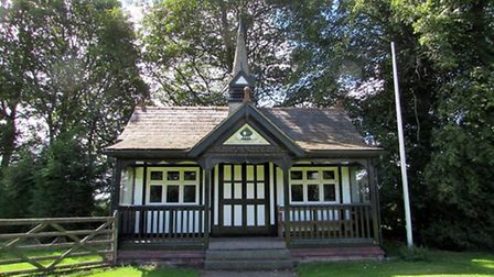 The pavilion at Bostock Green by Paul Taylor