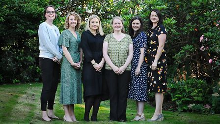 Team Womb, as Professor Emma Crosbie calls the women driving research into womb cancer Photo: Nikki
