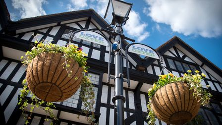 Oxted's Tudor-style timber-framed buildings, Image: Andy Newbold