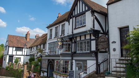 The Crown Inn in Old Oxted. Image: Andy Newbold