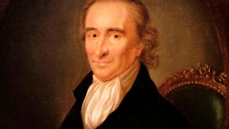 Thomas Paine painted in 1792