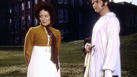 Walk where the lovers walked: Jennifer Ehle as Elizabeth Bennet and Colin Firth as Fitzwilliam Darcy