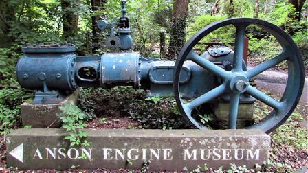 The entrance to the Anson Engine Museum Photo: Paul Taylor