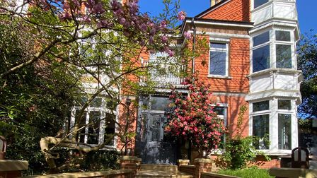 Sandrock House is a striking Victorian seven-bedroom property in the heart of Dorking
