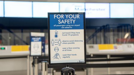 Safety first at Manchester Airport Photo: Manchester Airport