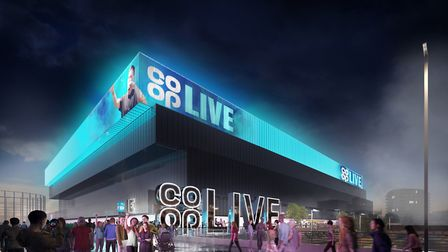 The Co-op Live Arena project in Manchester, which Harry Styles is investing in