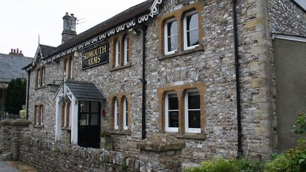 The Sidmouth Arms in Upottery wll host a unique pop-up art gallery in November. Picture: Callum Lawt