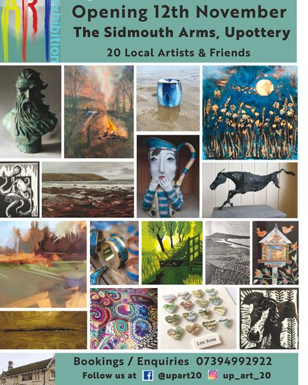 Up Art 20 will showcase works from over 20 local artist.