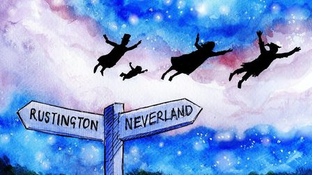 Part of the inspiration for the much-loved story of Peter Pan came from holidays spent at Rustington