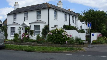 Cudlow House, Rustington, where the Llewelyn Davies family stayed and Barrie initiated the games tha