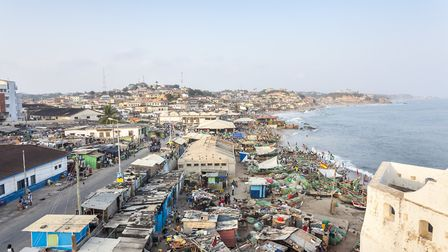 Thomas travelled to Ghana to set up the Wesleyan church at Cape Coast credit Getty Images/iStockphot