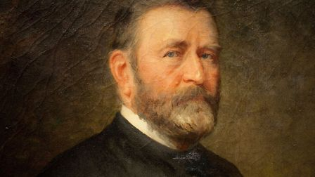 Painting of President Ulysses S. Grant, Thomas LeClear, 1880
