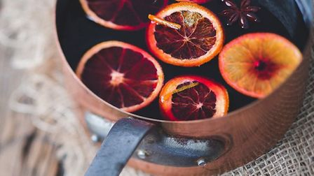 Use Sandford Orchards' produce as the base for warm mulled cider. Photo: Sandford Orchards