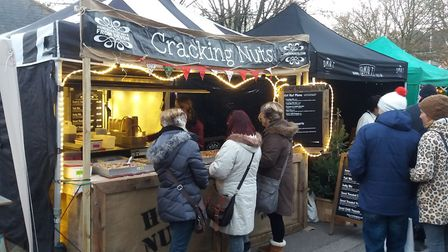 Cracking Nuts offers a delicious selection. Photo: Cracking Nuts
