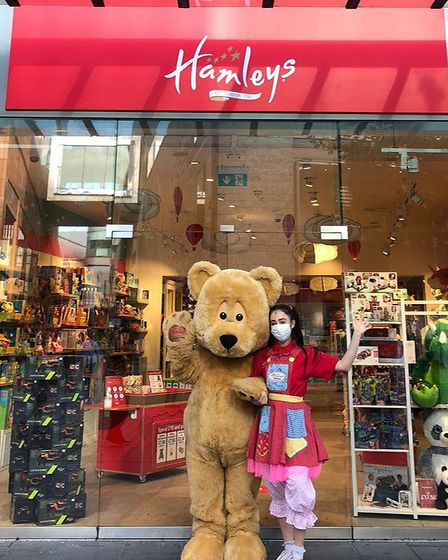 You won't struggle for inspiration at Hamley's!