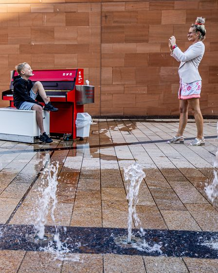 Liverpool ONE has frequent special events to entertain and engage shoppers Photo: Charlotte Graham