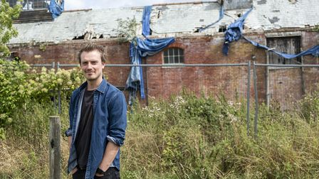 Fred Baring is overseeing the transformation of Home Farm on the estate