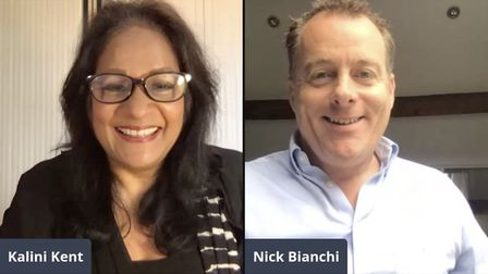 Kalini Kent in conversation with Nick Bianchi of Macclesfield's Arighi Bianchi furniture and interio