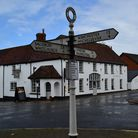 White Hart Inn in the centre of Overton has recently been restored and refurbished and given a new l