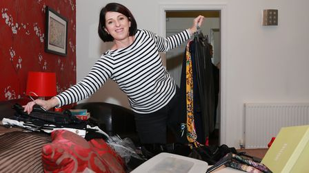 The Clutter Fairy, Lesley Spellman, loves a challenge. Wardrobe declutters can be tricky she says, a