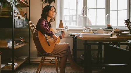 Katie Melua made online recordings during lockdown. Image: Rosie Matheson