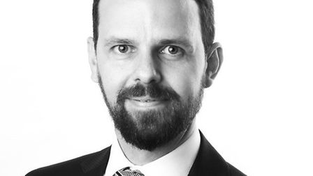 James Smith is an investment manager and the branch manager of Charles Stanley Eastbourne. Picture: