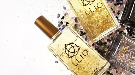 Llio Crystoil unites the power of crystals and essential oils