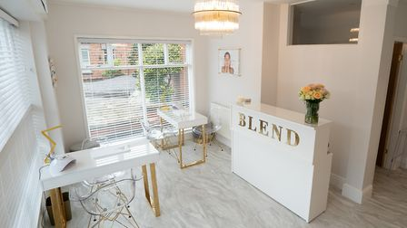 Blend Skin and Beauty Clinic is bringing some luxury to Tarvin High Street. Photo: Matthew Houghton
