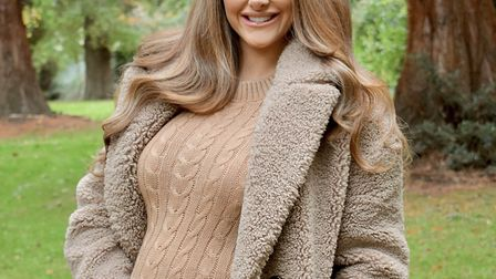 I love autumnal days - though as my bump grows I may need to invest in a new coat! Photo: Georgia A