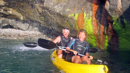 KORU Kayaking Tom and Hetty
