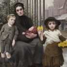 Thomas Kennington The Pinch of Poverty 1891 Image: Care of the Foundling Museum