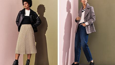 Everyday stylish looks from Marks & Spencer are set to become your autumn favourites. Image: Marks &