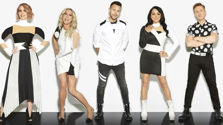 """Claire Richards (far left) with bandmates Faye Tozer, Lee Latchford-Evans, Lisa Scott-Lee and Ian """"H"""