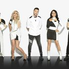 "Claire Richards (far left) with bandmates Faye Tozer, Lee Latchford-Evans, Lisa Scott-Lee and Ian ""H"