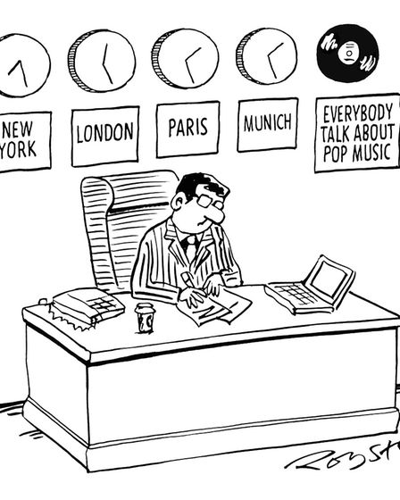 One of Royston's older, most memorable and still-loved cartoons