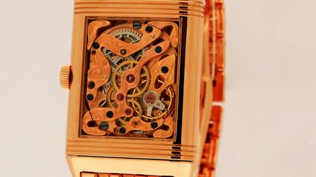 The Jaeger Le Coultrer wrist watch that inspired Hamstone House. Image: Jaeger Le Coultre