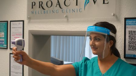 Proactive Wellbeing Clinic have a number of safety measures in place and will continue to provide th