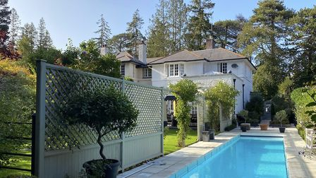 Forest Park Road, Brockenhurst 1,195,000 Well styled Edwardian villa with orangery, pool and garde