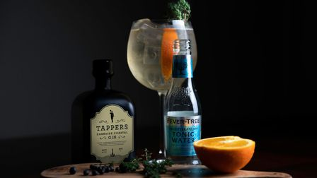 Steve suggests you serve Darkside with a slice of orange and a Mediterranean tonic Photo: James Bar