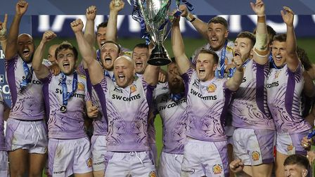 The impossible dream comes true. Exeter Chiefs are crowned champions of Europe. Photo: Tom Jenkins