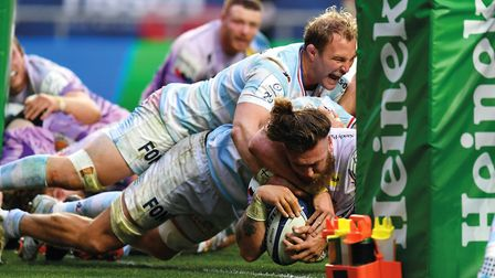 Power play: the strength of the forwards is the heartbeat of the Exeter game plan – demonstrated per