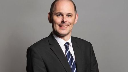 Tory MP James Grundy. Photograph: House of Commons.