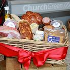 A delicious homemade hamper by Aiden Byrne and his team at The Church Green, Lymm