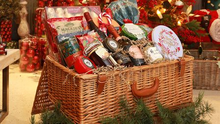 The Hollies are in the festive spirit with their hand-picked Christmas hamper